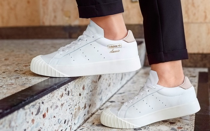 laberinto Mal astronomía  Adidas Launches the Everyn, a New Classic Sneaker for Women on Jan. 24 –  Footwear News