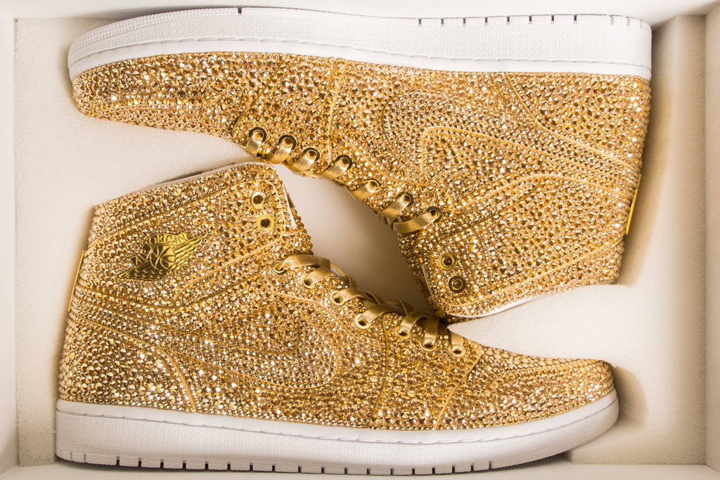 Jordan Shoes Have Over 15,000 Crystals
