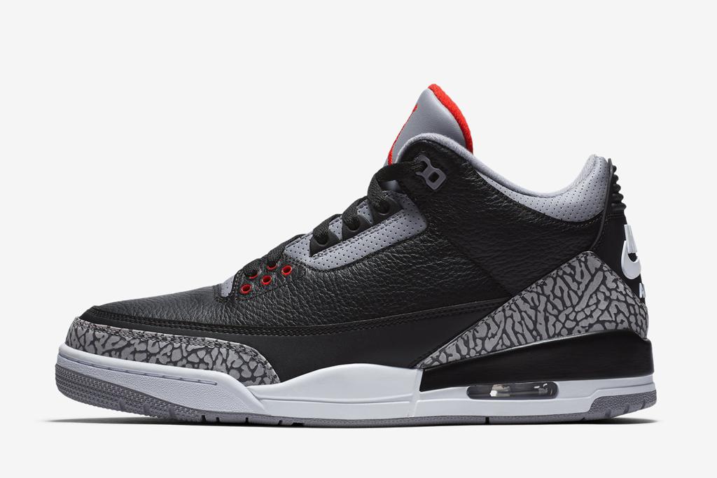 Air Jordan 3 Retro Black Cement
