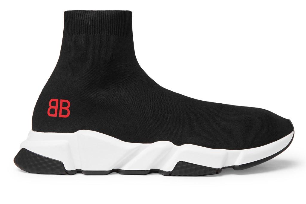 Balenciaga Speed Sock Sneakers Mr Porter