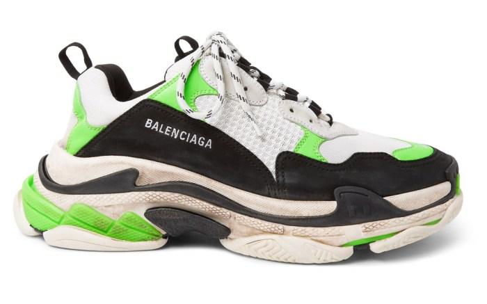 Balenciaga Triple S Sneakers Mr Porter