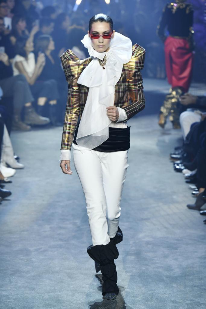bella hadid, haute couture fashion week, Alexandre Vauthier