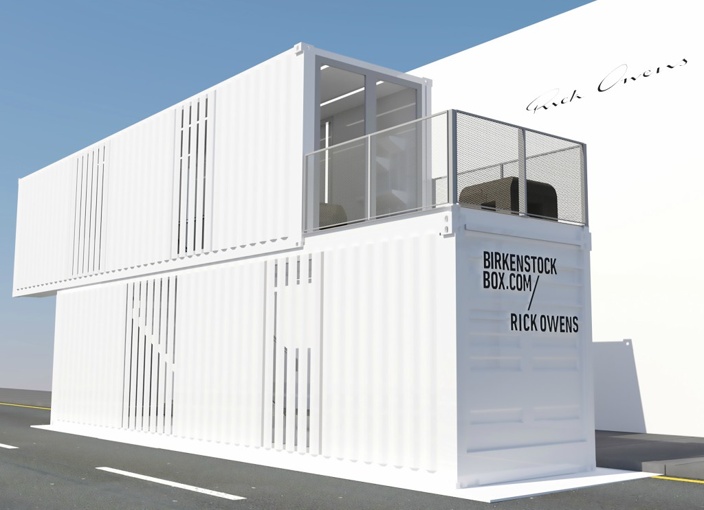 Birkenstock Rick Owens Box