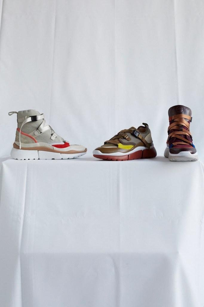 Chloé pre-fall 2018 sneakers