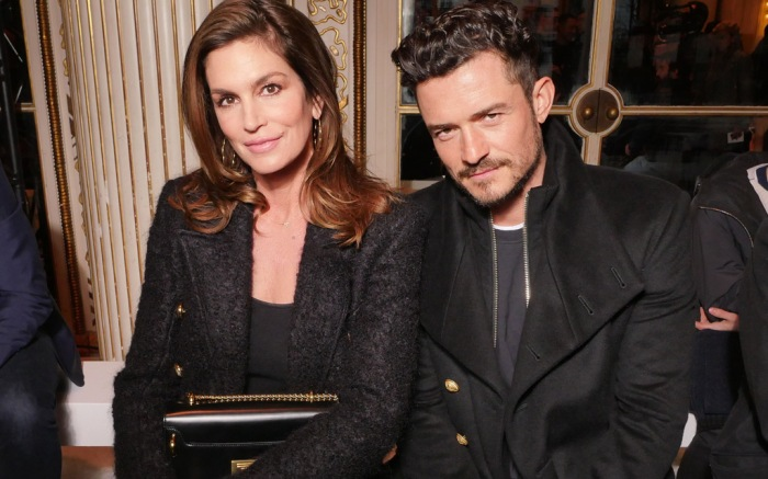 Cindy Crawford and Orlando Bloom