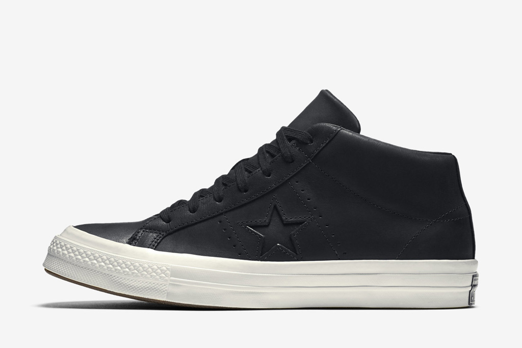 Converse One Star Premium Leather High Top