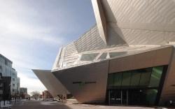 The Denver Art Museum, designed by