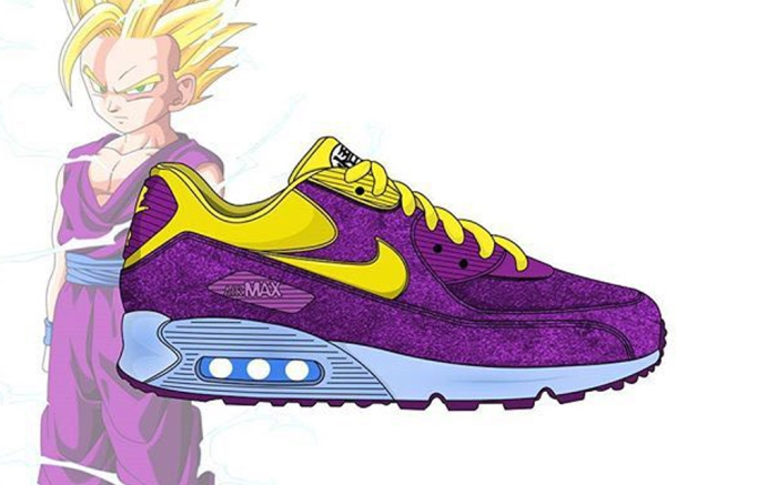 Sensible calculadora rifle  See What the 'Dragon Ball Z' Sneakers Would Look Like With Nike – Footwear  News