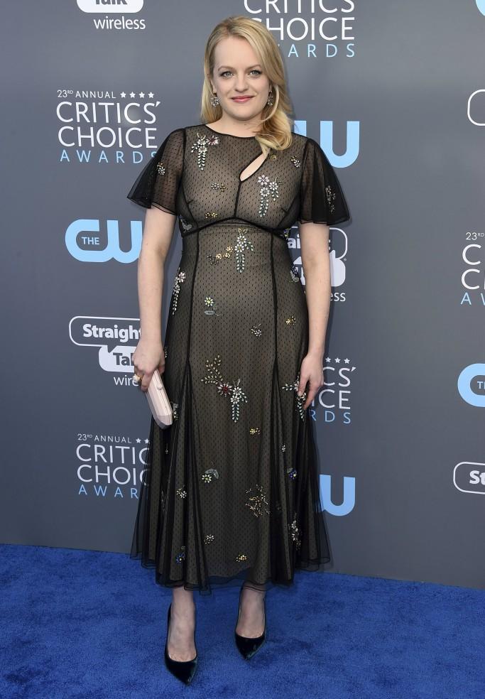 Elizabeth Moss, critics choice awards