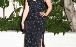 Celebrities at W Magazine's pre-Golden Globes Party