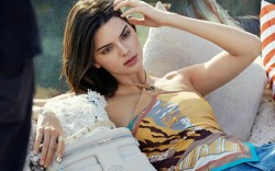 Kendall Jenner stars in Tod's spring