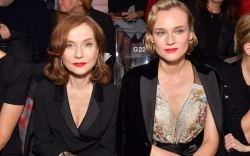 Isabelle Huppert, Diane Kruger, paris fashion