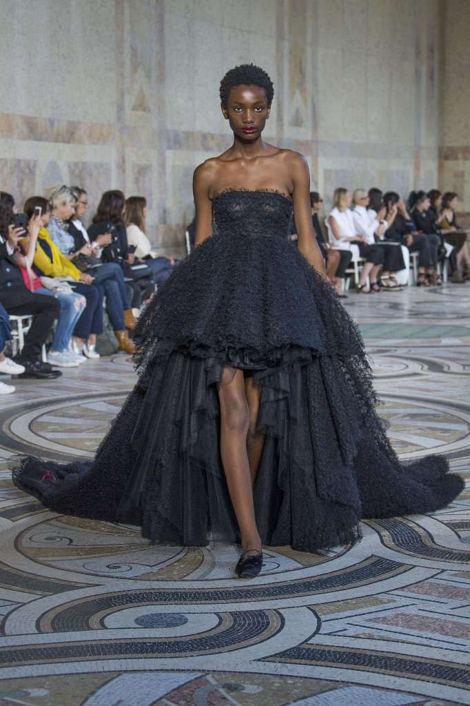 Giambattista Valli show, Runway, Fall Winter 2017, Haute Couture Fashion Week, Paris, France - 03 Jul 2017