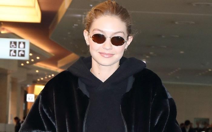 Gigi Hadid , Tokyo airport