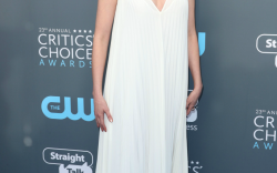 All The Louboutins At The Critics' Choice Red Carpet
