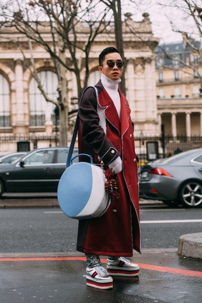 gucci platform sneakers, paris men's fashion week