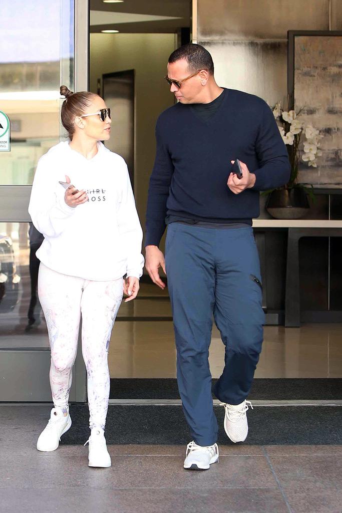 Jennifer Lopez, Alex Rodriguez, J Lo, A Rod, gym, couple style