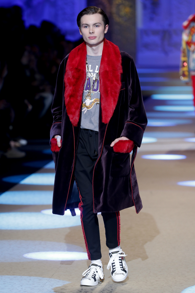jack marsden, dolce and gabbana, milan men's fashion week