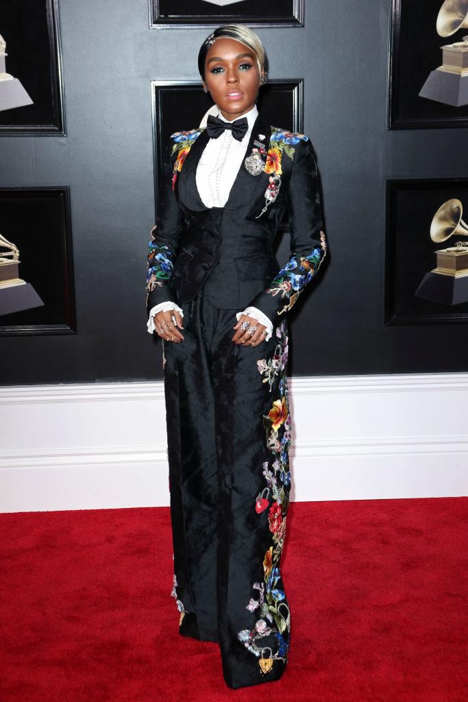 Janelle Monae 2018 Grammy Awards Dolce Gabbana