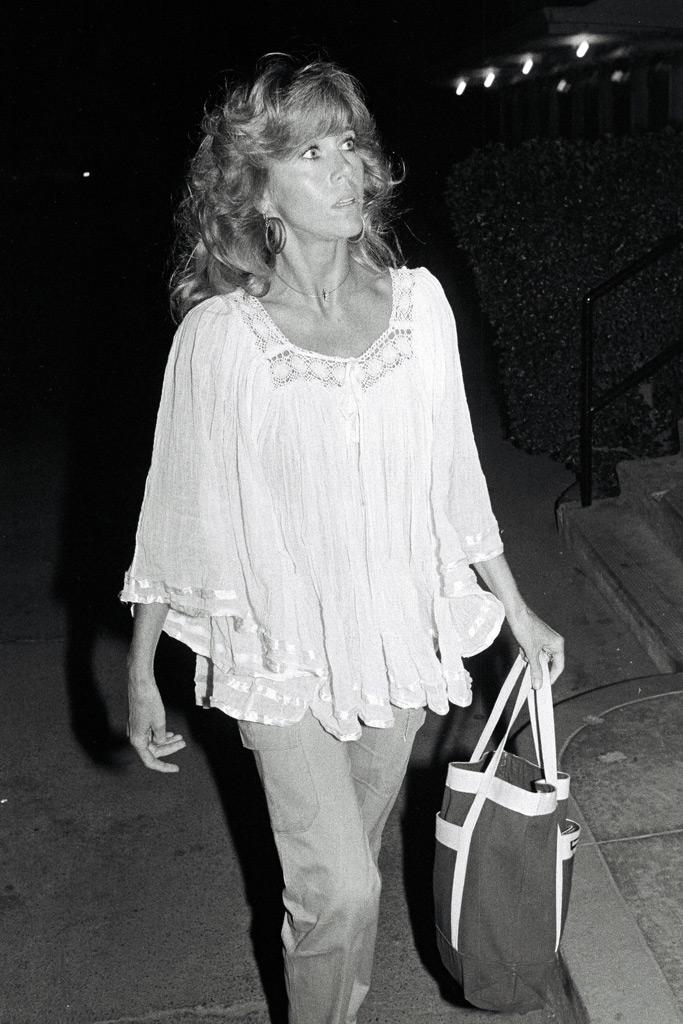 jane fonda, dress, 1970s