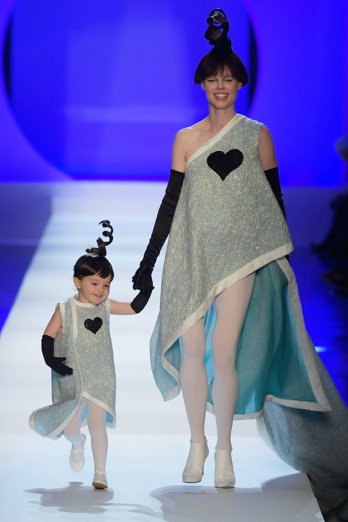 coco rocha, Jean-Paul Gaultier, haute couture fashion week