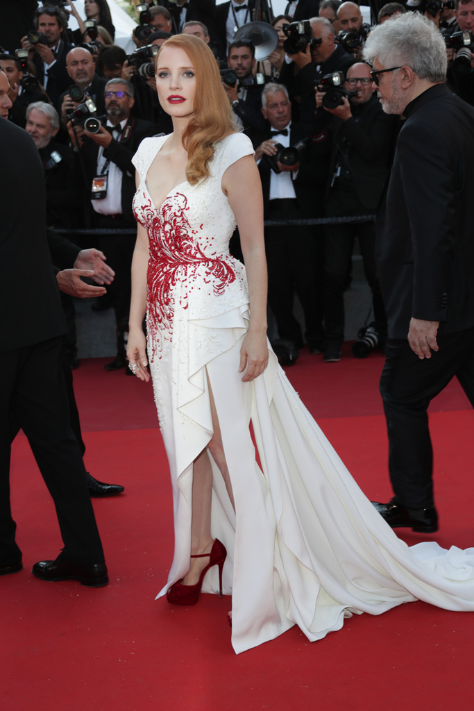 Jessica Chastain, Cannes Film Festival 2017, red carpet