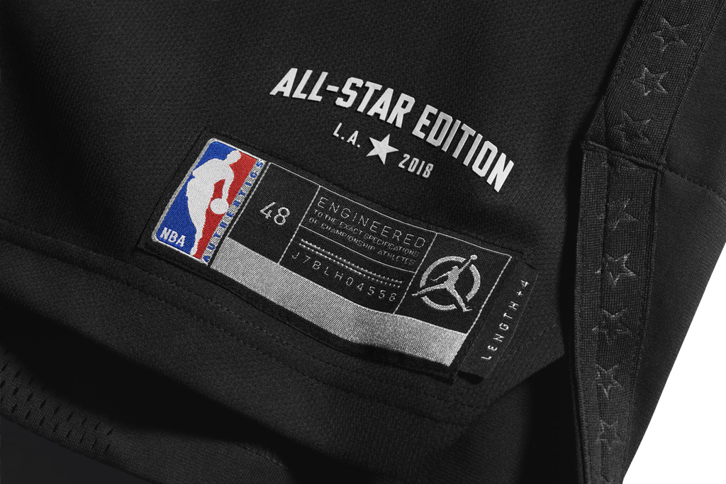 Jordan Brand Oklahoma City Thunder All-Star Jersey