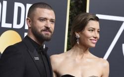 Justin Timberlake and Jessica Biel Golden