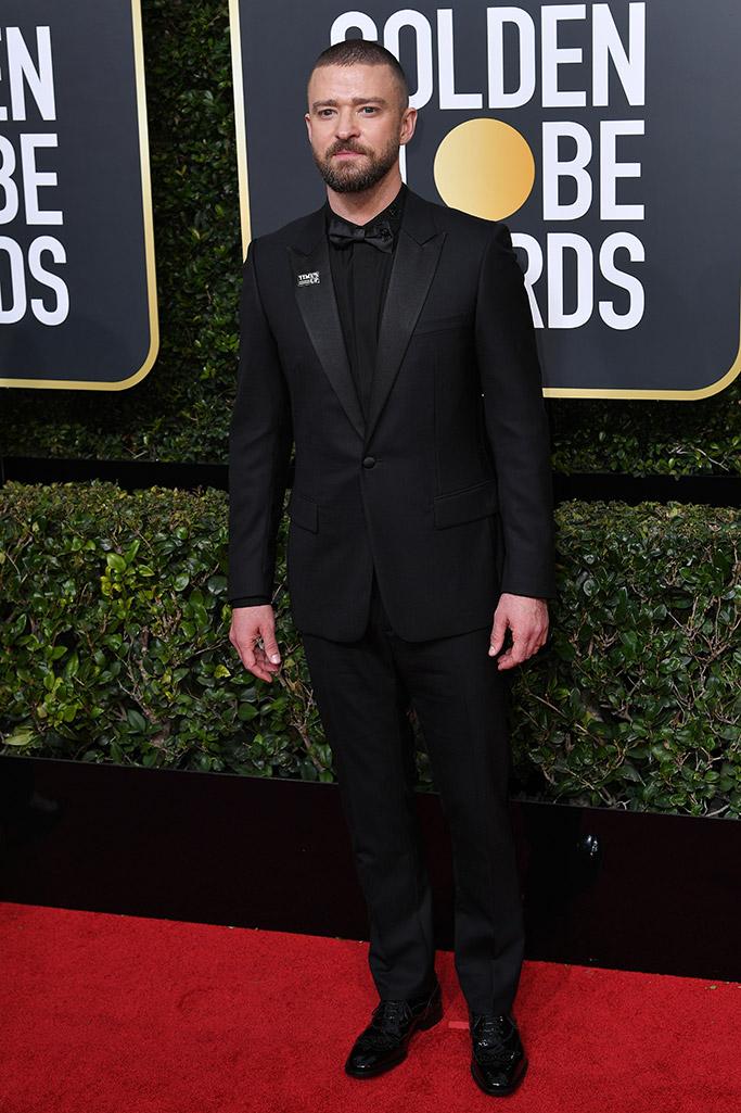 Justin Timberlake Golden GLobes