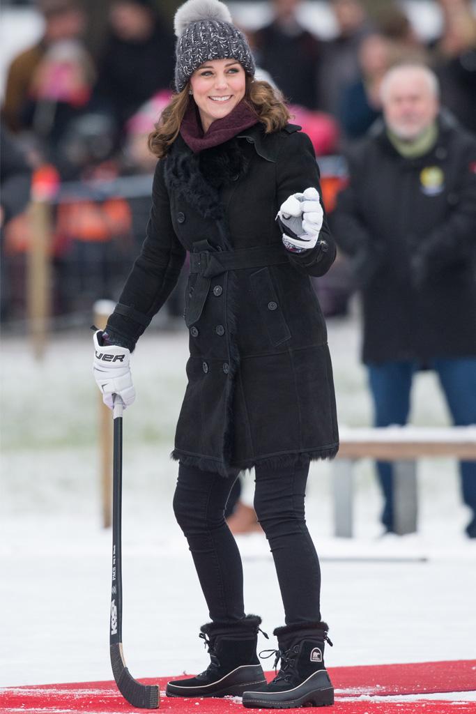 Kate Middleton, Sorel boots