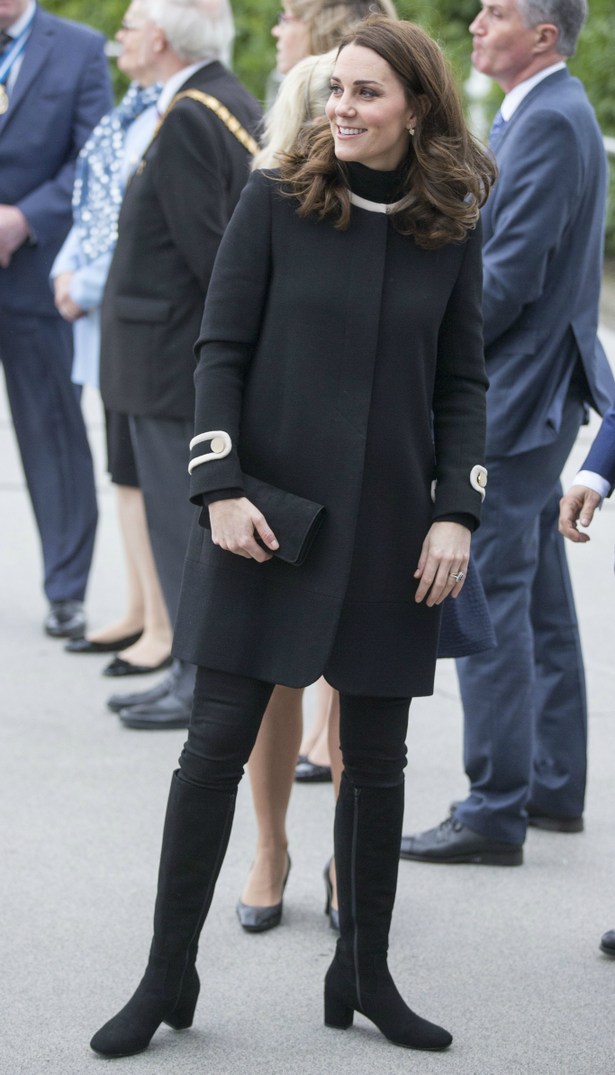 goat fashion coat, kate middleton