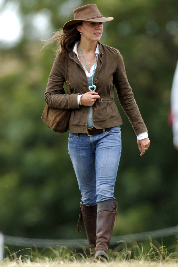 Kate Middleton, boots