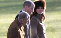 kate middleton,, prince william, prince philip