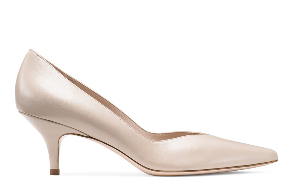 Stuart Weitzman Everyday Kitten Heel Pumps