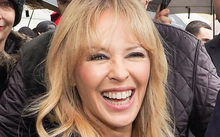 Kylie Minogue Spring 2018 Paris Couture Fashion Week