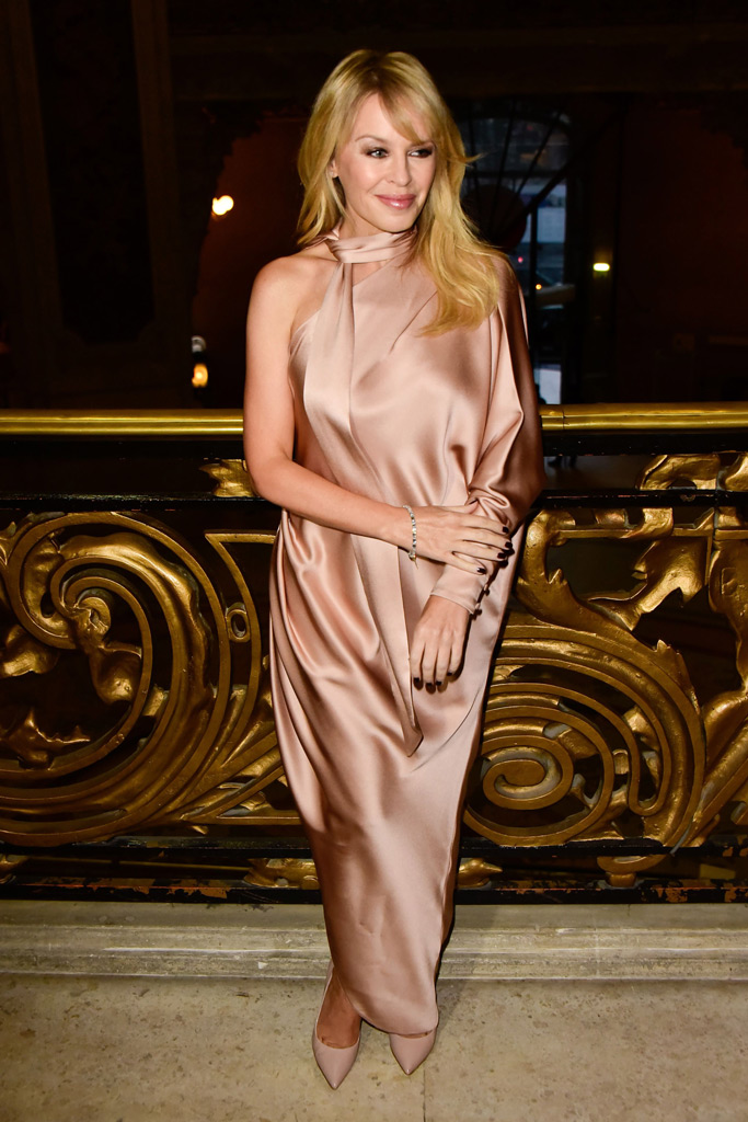Kylie Minogue, Ralph and Russo spring 2018 haute couture, paris fashion week