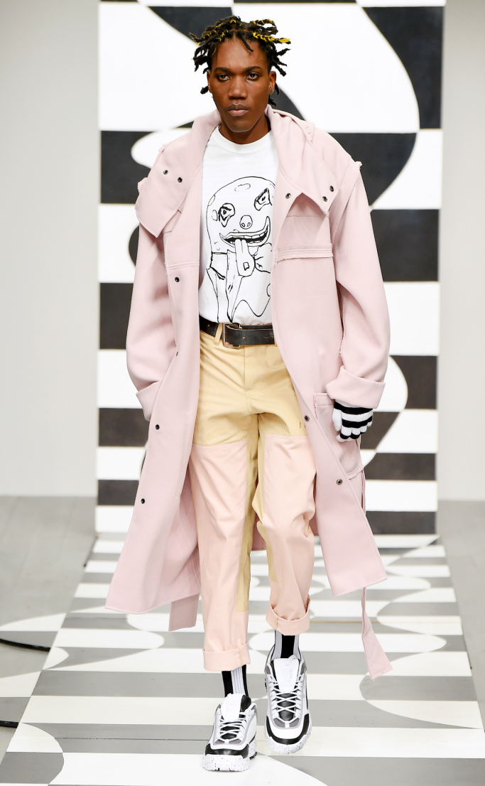 liam hodges fall 2018, runway, london men's fashion week