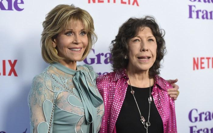 lLily Tomlin & Jane Fonda's BFF Style