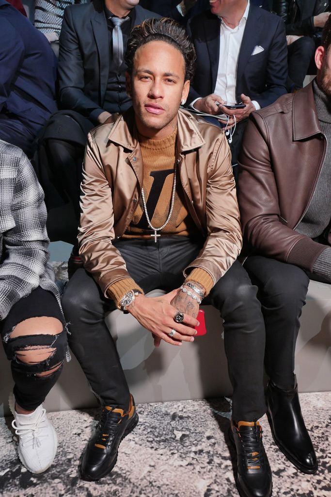 Neymar Paris Fashion Week F/W '18