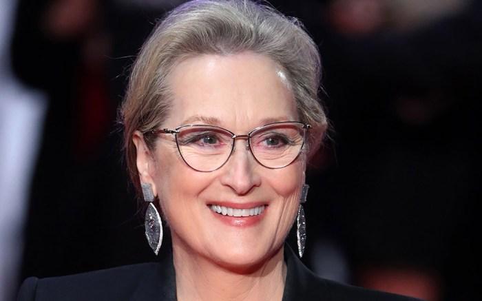 Meryl Streep The Post Premiere