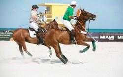 Beach Polo World Cup, jockeys, miami