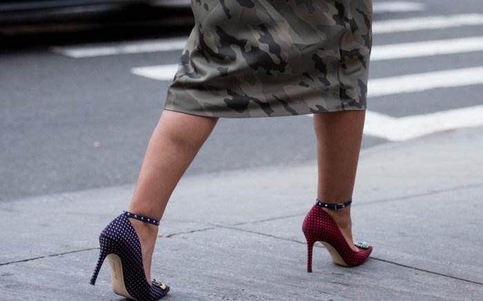Sam Edelman, mismatched shoes, new york fashion week, nyfw