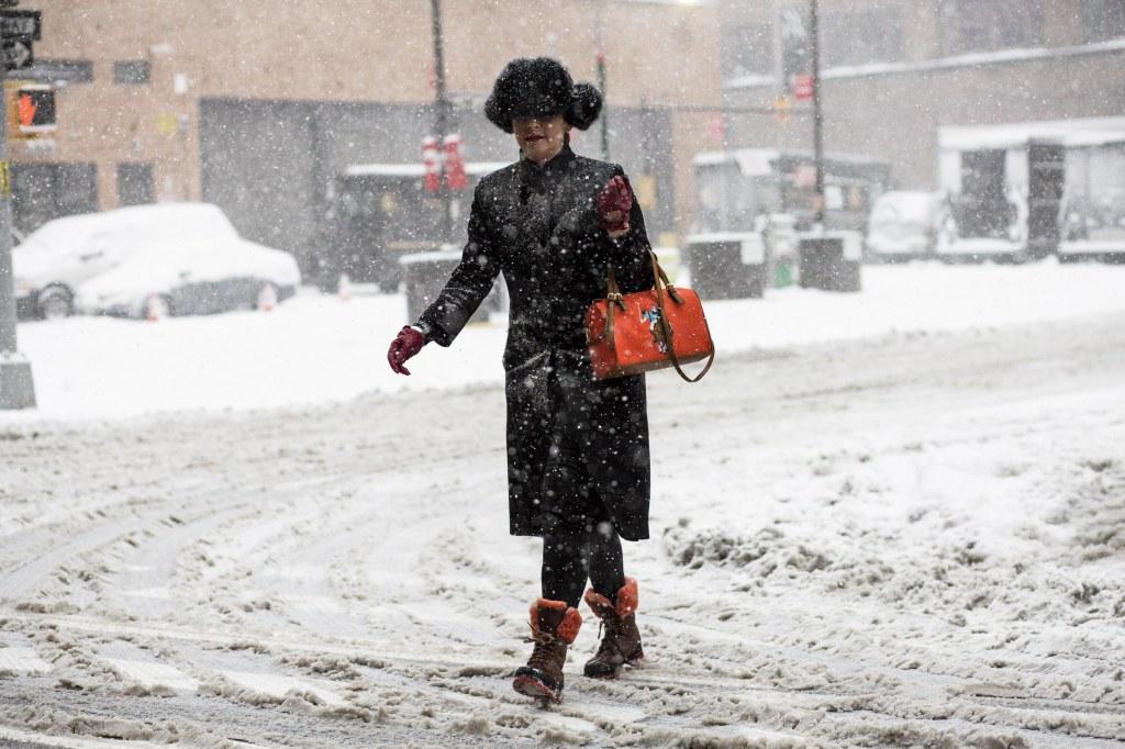Street styleStreet Style, Day 1, Fall Winter 2017, New York Fashion Week, USA - 09 Feb 2017
