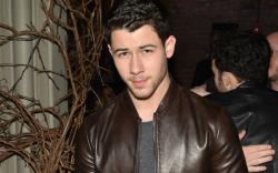 Nick Jonas at John Varvatos, new
