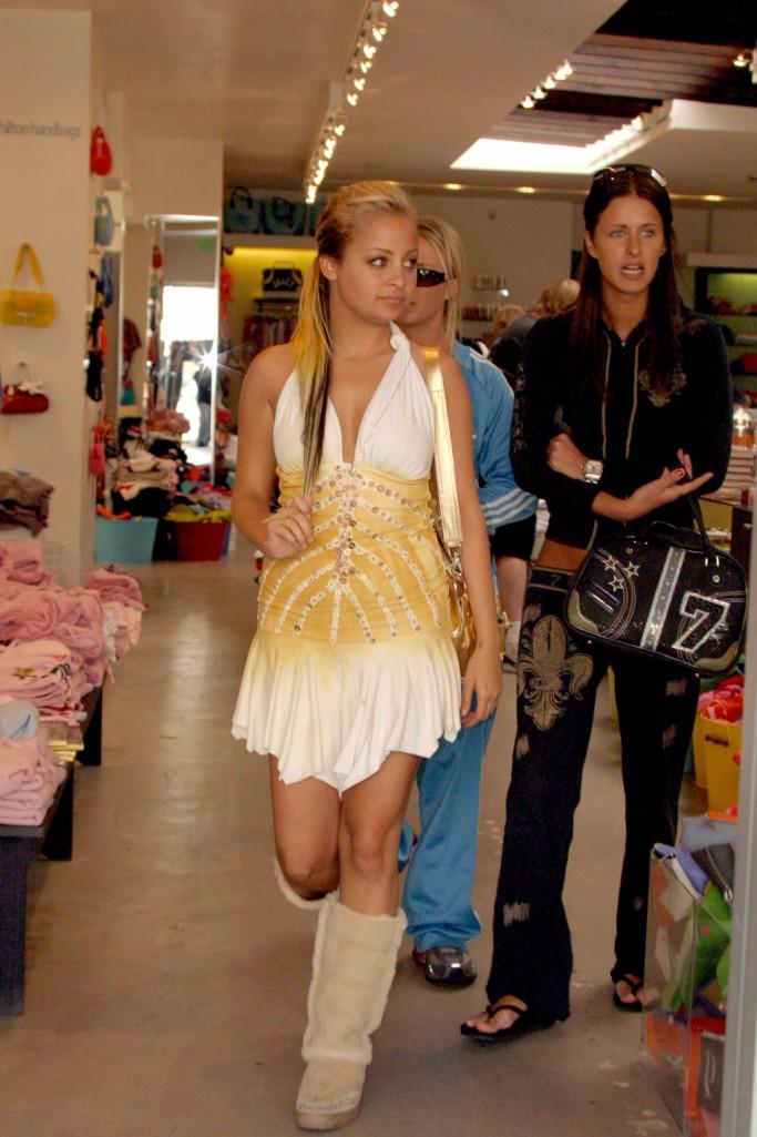 Nicole Richie in Uggs