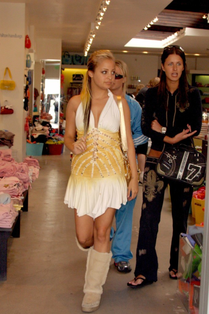 Nicole Richie in Uggs