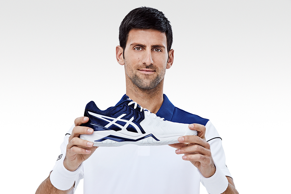 Novak Djokovic Asics Gel-Resolution Novak