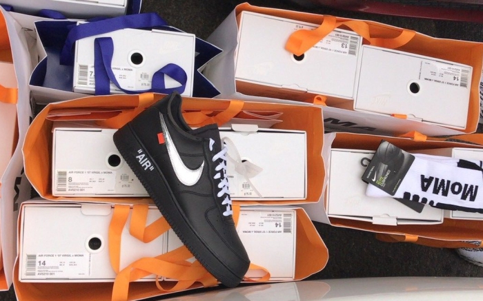 MoMA x Off-White x Nike Air Force 1