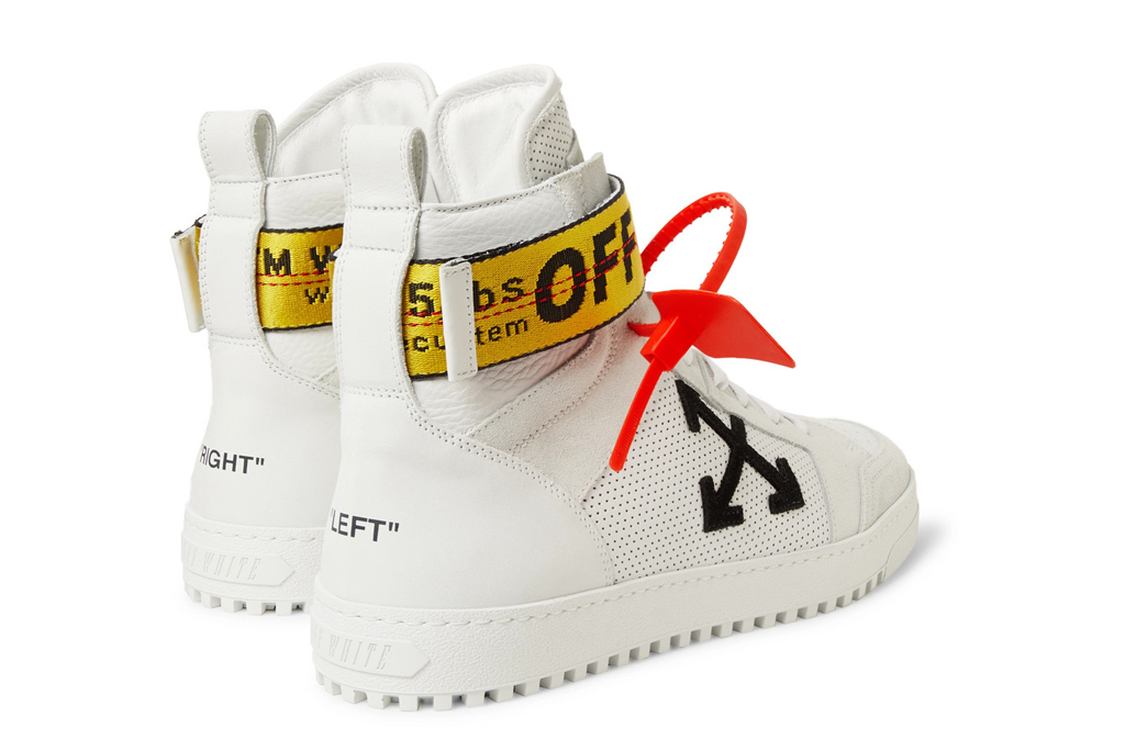 Off-White High-Top Sneaker