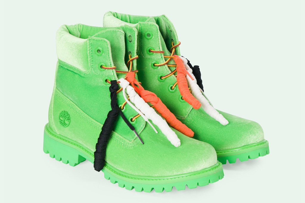Off-White x Timberland 6-Inch Boots